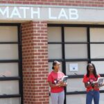 Marlee & Chimezie at Laney's Math Lab